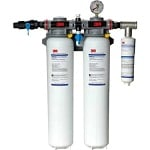 3M DP295-CL Dual-Port Commercial Water Filtration System