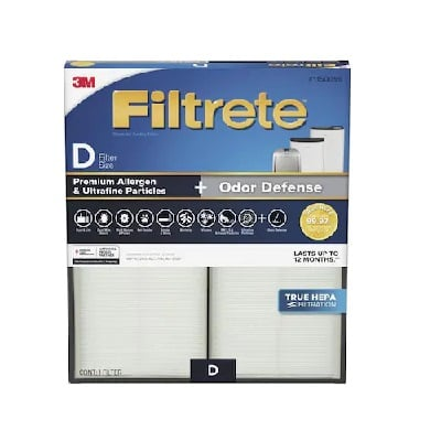 3M Filtrete 1150099 True HEPA Replacement For Idylis IAF-H-100D
