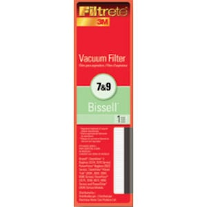 Bissell Vacuum Filter Style 7 & 9 by 3M Filtrete