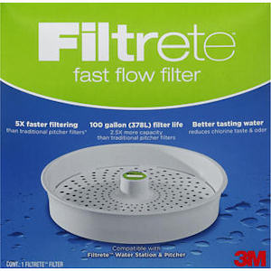 3M Filtrete Fast Flow Replacement Water Filter