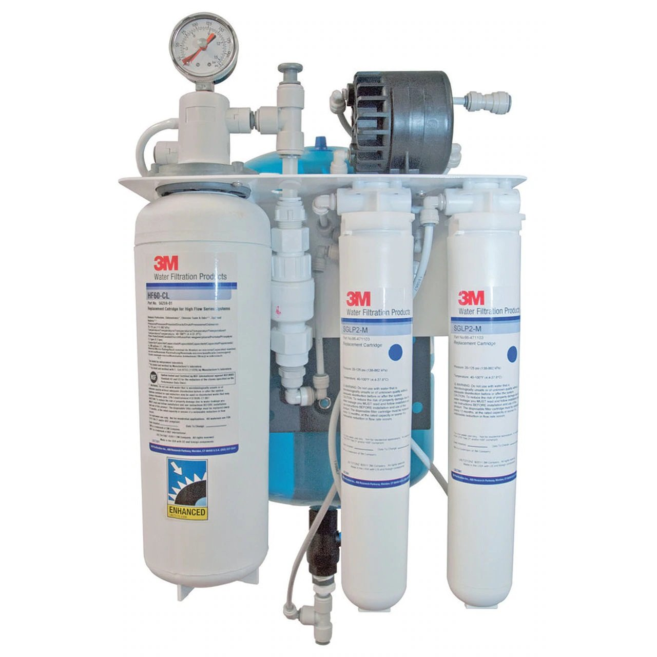 3M SGLP200-CL Reverse Osmosis Filtration System
