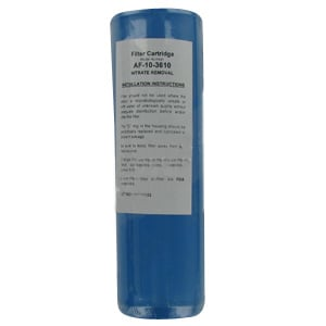 "Aries 10"" Nitrate Removal Cartridge AF-10-3610"