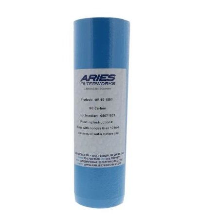 "Aries AF-10-1091 2.5"" x 10"" Bone Char Fluoride Reduction Filter"