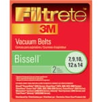 Bissell Vacuum Filters, Bags & Belts Model <b>Bissell PowerGlide 3545 Series</b> replacement part Bissell Vacuum Belts Style 7, 9, 10, 12 & 14 by 3M