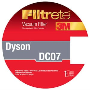 Dyson DC07 Replacement Vacuum Filter by 3M Filtrete