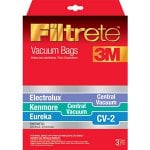 Eureka Vacuum Filters, Bags & Belts Model <b>Eureka CV3121</b> replacement part Eureka CV-2 Vacuum Bags / Kenmore Central Vacuum