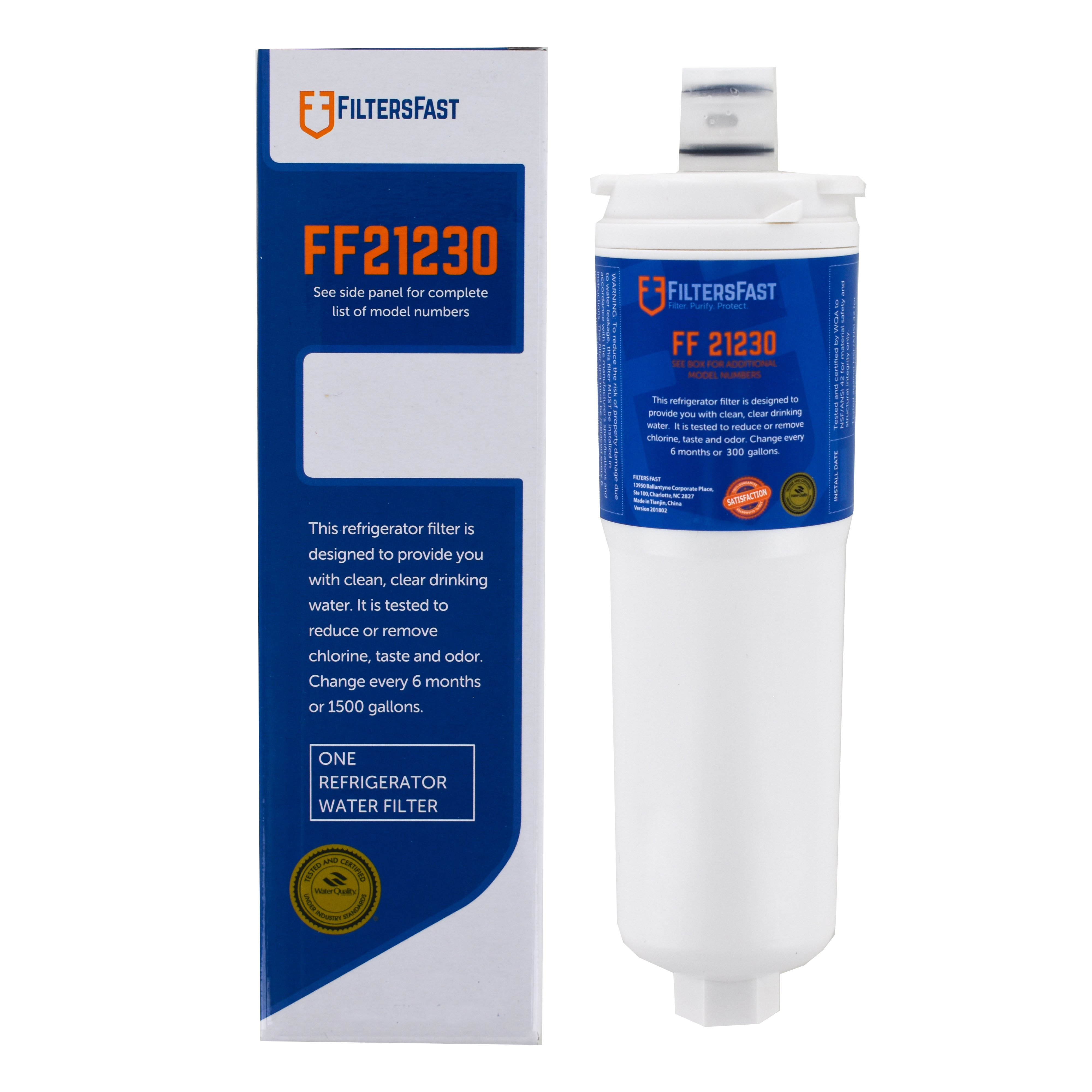 FiltersFast FF21230 Replacement for Water Sentinel WSB-1