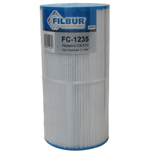 Filbur FC-1235, Hayward CX 470 Pool & Spa Filter