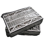 (2) Trion 16x25x5 Air Bear Furnace Filters MERV 8