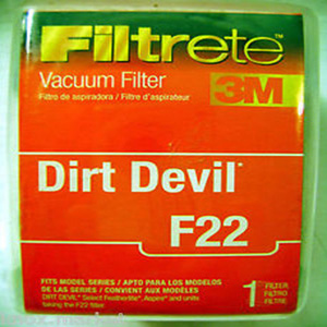 Filtrete 65822 - Dirt Devil F22 Allergen Filter