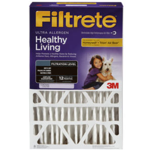 "Filtrete Deep 1000-1 Replacement 4"" Air Filter 4-Pack"
