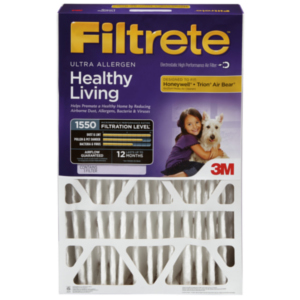 "Filtrete Deep 1550-1 Replacement 4"" Air Filter 4-Pack"