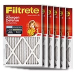 3M Filtrete Micro Allergen Home Air Filter 6-Pack Red