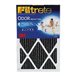 Filtrete 1 Inch Carbon Odor Air Filter 14 x 25 x 1 4-Pack