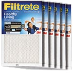 Filtrete Ultimate Allergen Filter Deep Blue 6-Pack