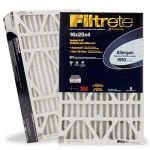 3M Filtrete AC Filters Model <b>Trion 1400 Series</b> replacement part 3M Filtrete 4 Inch Allergen Reduction Filter