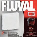 Fluval Foam Pad for Fluval C3 Aquarium Filter 2 pk