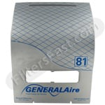 GeneralAire Humidistat Model <b>GeneralAire 81</b> replacement part GeneralAire 81-28-GF Humidifier Cover Assembly
