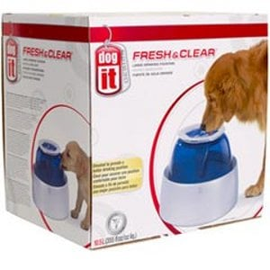 Dogit 73651 Design Fresh and Clear Large Dog Drinking Fountain