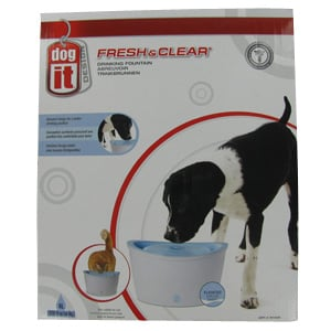 Dogit Design Fresh & Clear Pet Drinking Fountain
