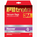 Hoover Q Synthetic Vacuum Bags by 3M Filtrete 4-Pack