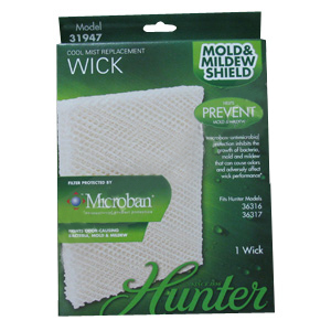 Hunter 31947 Replacement Humidifier Wick Filter