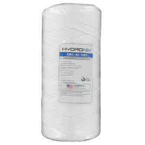 "Hydronix 10"" x 4.5"" String Wound Filter 5 Micron"