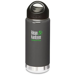 Klean Kanteen 16oz Wide Insulated Bottle - Gray