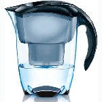 Mavea Elemaris XL Water Pitcher Filter - Black