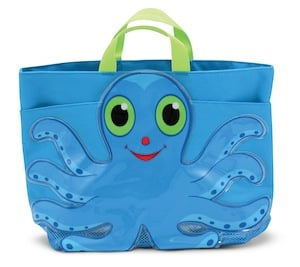 Flex Octopus Kids Beach Tote Bag - Melissa & Doug