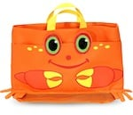 Melissa & Doug Kids Crab Beach Tote Bag