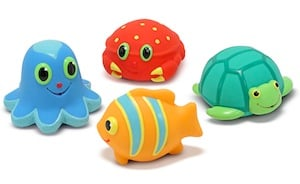 Seaside Sidekicks Squirters Toddler Water Toys