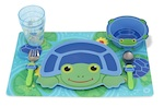 Turtle Mealtime Plate Set - Melissa & Doug