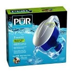 PUR CR-6000C Filtered Water Pitcher with LED Light