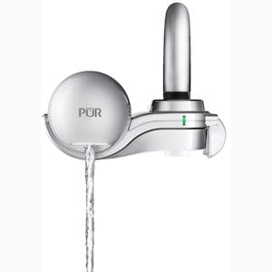 water purifier for sink faucet. PUR Faucet Mount Filter 3 Stage Horizontal Silver Sale  39 99