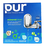 PUR Faucet Mount Filter System 3-Stage Chrome
