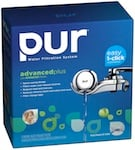 PUR FM-9400B Faucet Mount Filter 3-Stage Horizontal Chrome 3-Pack