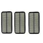 Purolator A14649 Car Air Filter Replacement 3-Pack