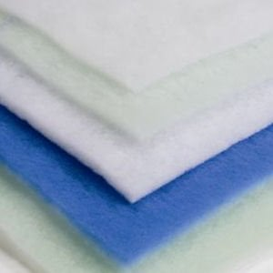 "FiltersFast 1"" Tackified Blue/White Polyester Pad"