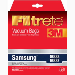 Samsung 8000 & 9000 Vacuum Bags by 3M Filtrete