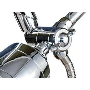 Sprite Combi 3-Way Diverter Shower Saver - Chrome