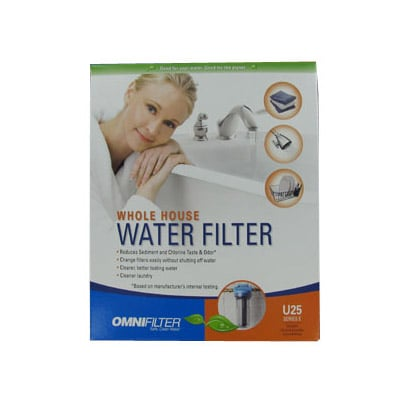 OmniFilter U25 Whole House Water Filter System