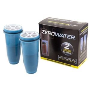 ZeroWater Travel Bottle Replacement Filters 2 Pack