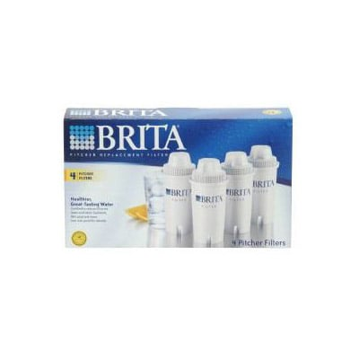 Brita Pitcher Replacement Filter 4-Pack