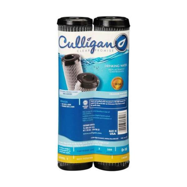 Culligan D10 Under Sink Water Filters - 5 Micron