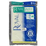 Royal Aire Vacuum Filters, Bags & Belts Model <b>Royal 7730</b> replacement part Royal Aire Type B Bag-Metal Upright 3 PACK