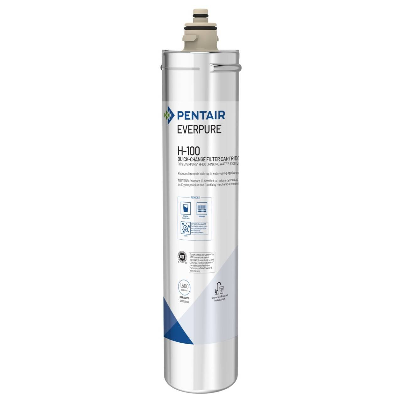 Everpure EV9611-16 H-100 Replacement Water Filter Cartridge
