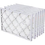 "1"" Air Filters Merv 8 - Case of 6 Filters (Good)"