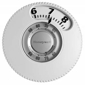 Honeywell 1H/1C Easy Display Mechanical Thermostat