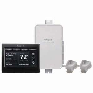 Honeywell Prestige IAQ Thermostat Coverplate Black